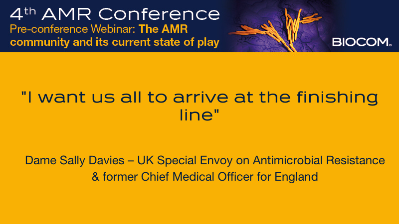 Now: Dame Sally Davies @UKAMREnvoy on The Future of #AMR live at the @AMR_Conference Closing Session.  Free access here: https://t.co/AIC5JOMFLZ https://t.co/RMHPGL35Y5