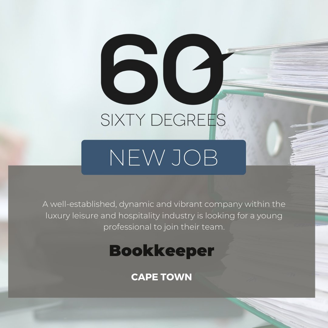 test Twitter Media - New #JobAlert - Bookkeeper in Camps Bay, Cape Town  For more information & to apply, please click on the link below;  https://t.co/ZvbkdYrqZ7  #60Degrees #60DRecruiter #60Droles #bookkeeper https://t.co/T7mLk7e0JL