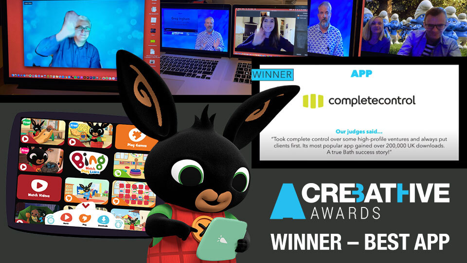 Huge congratulations to @contweetcontrol for winning the App award at the @CreativeBath Awards 2020 for Bing: Watch, Play, Learn! The all-in-one app has delighted over 400k Bingsters in the UK and is rolling out in Europe. #CreativeBathAwards  https://t.co/0zw0IL80Uo https://t.co/mZaNR03ZE1
