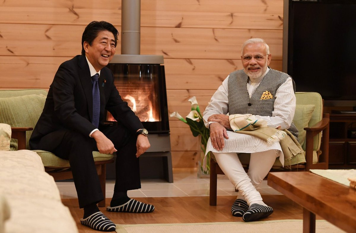 Pained to hear about your ill health, my dear friend @AbeShinzo. In recent years, with your wise leadership and personal commitment, the India-Japan partnership has become deeper and stronger than ever before. I wish and pray for your speedy recovery. https://t.co/JjziLay2gD