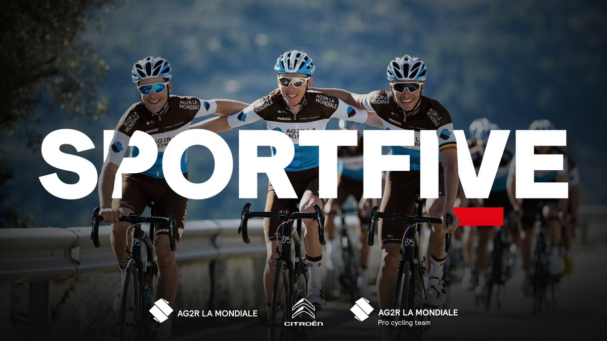 🇫🇷 SPORTFIVE assists @AG2RLAMONDIALE and its eponymous cycling team @AG2RLMCyclisme on the creation of #AG2RCITROENTEAM.    ▶️ https://t.co/d33BeRTthl https://t.co/hWTQ3mD60E