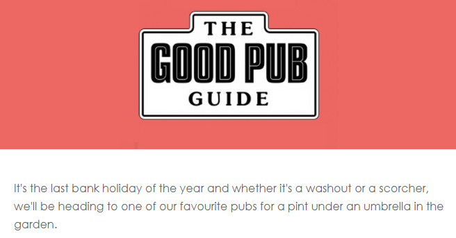 @GoodPubGuide The Good Pub Guide has just cancelled Christmas 😜