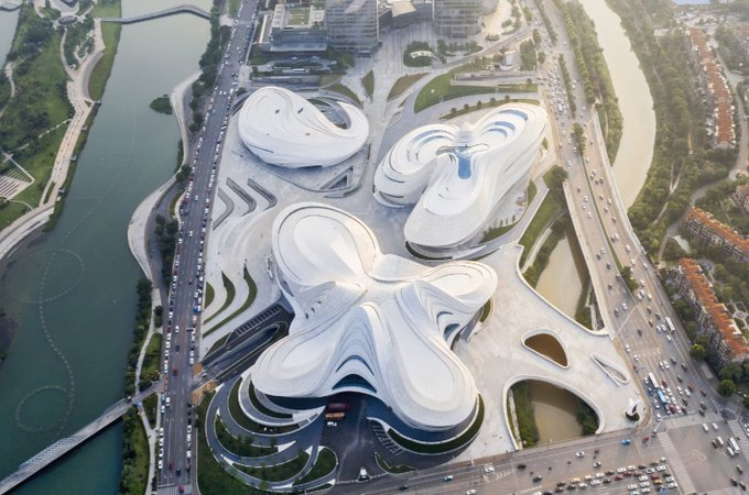 The final entry on our Best Public-Use Project (with Public Funding) shortlist is another Zaha H....