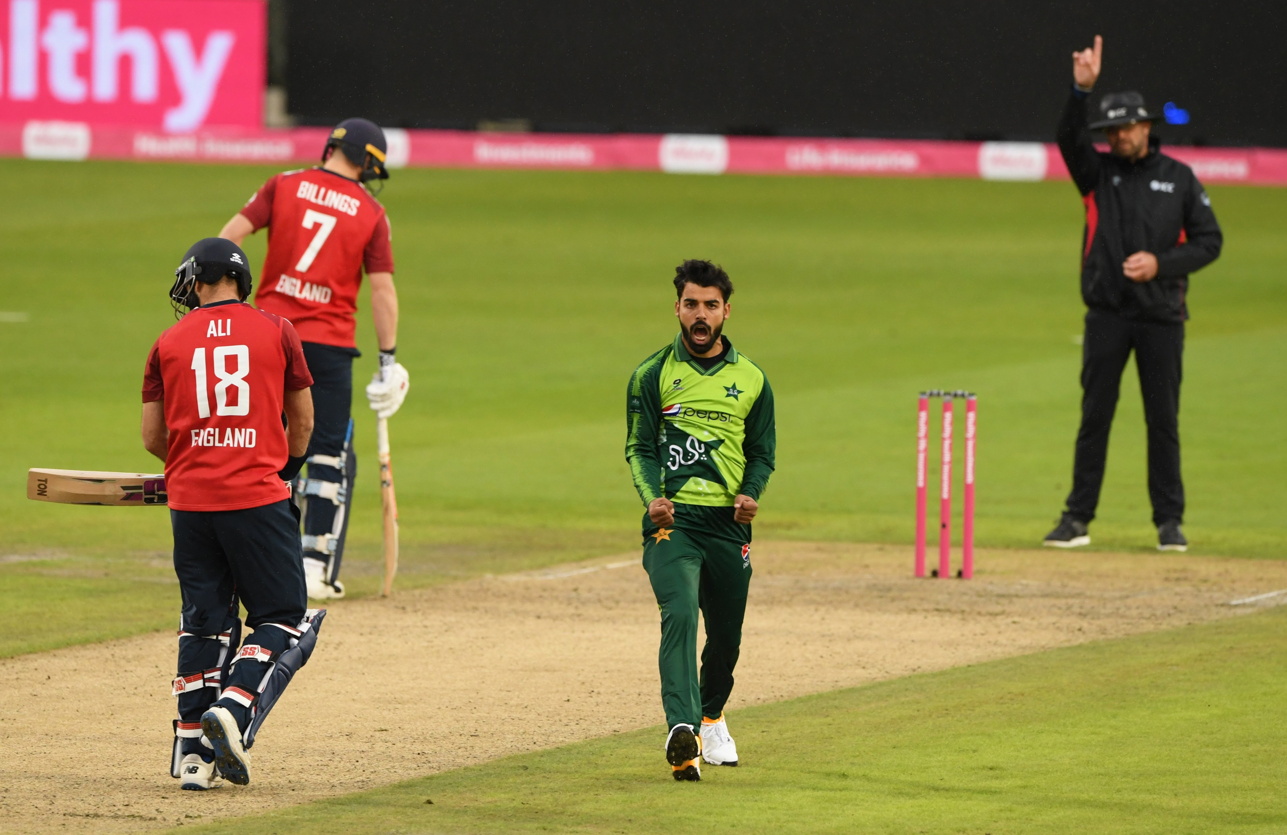 Shadab Khan- England vs Pakistan 1st T20I