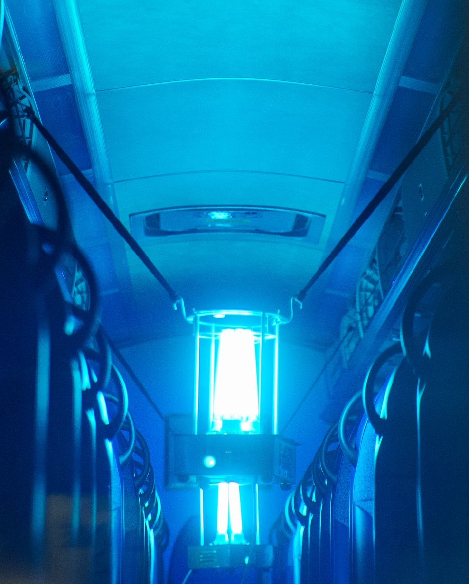 Nj Transit On Twitter Nj Transit Is Working With Rutgers University Cait To Test The Use Of Ultraviolet C Uvc To Disinfect Our Bus Fleet From Viruses Such As Covid 19 Learn More In