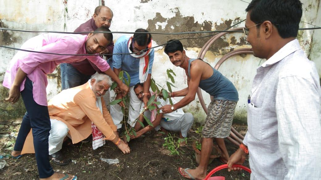 आज #पर्यावरण_दिवस के अवसर पर #भारतीय_मजदूर_संघ प्रदेश कार्यालय में पौधारोपण कर गोष्ठी का आयोजन किया गया #BMS @BmsBojji @VijayKrSinhaBJP @IPRD_Bihar https://t.co/Q5h4I7bMqC