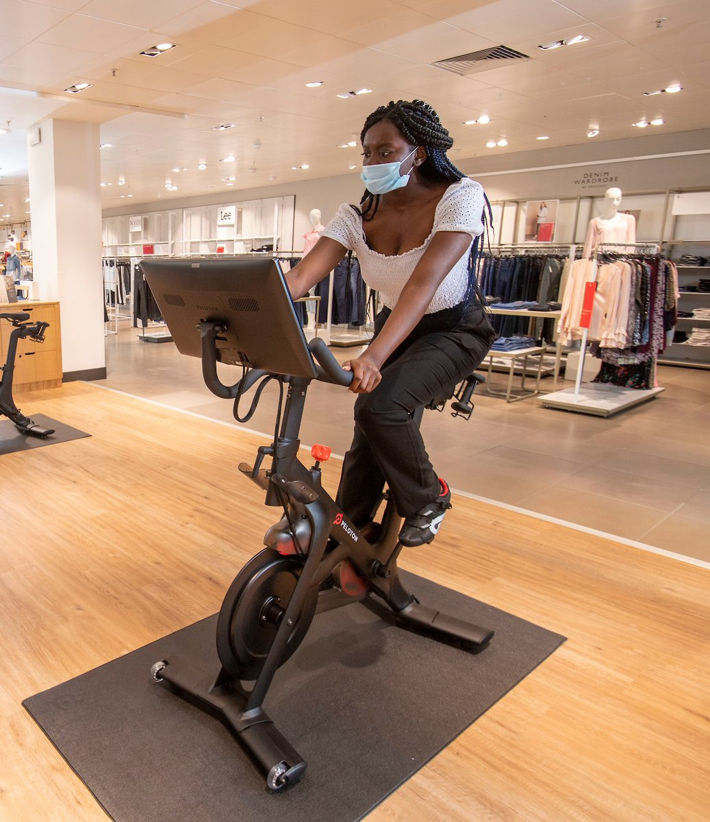 Just launched at John Lewis Oxford St. & in 8 further stores throughout the coming months, we're excited to be the exclusive retailer partner of @onepeloton in the UK. Visit us in-store to try the Peloton bike alongside a personalised walk-through from our Peloton experts 🚴 https://t.co/wfeE4RSyB8