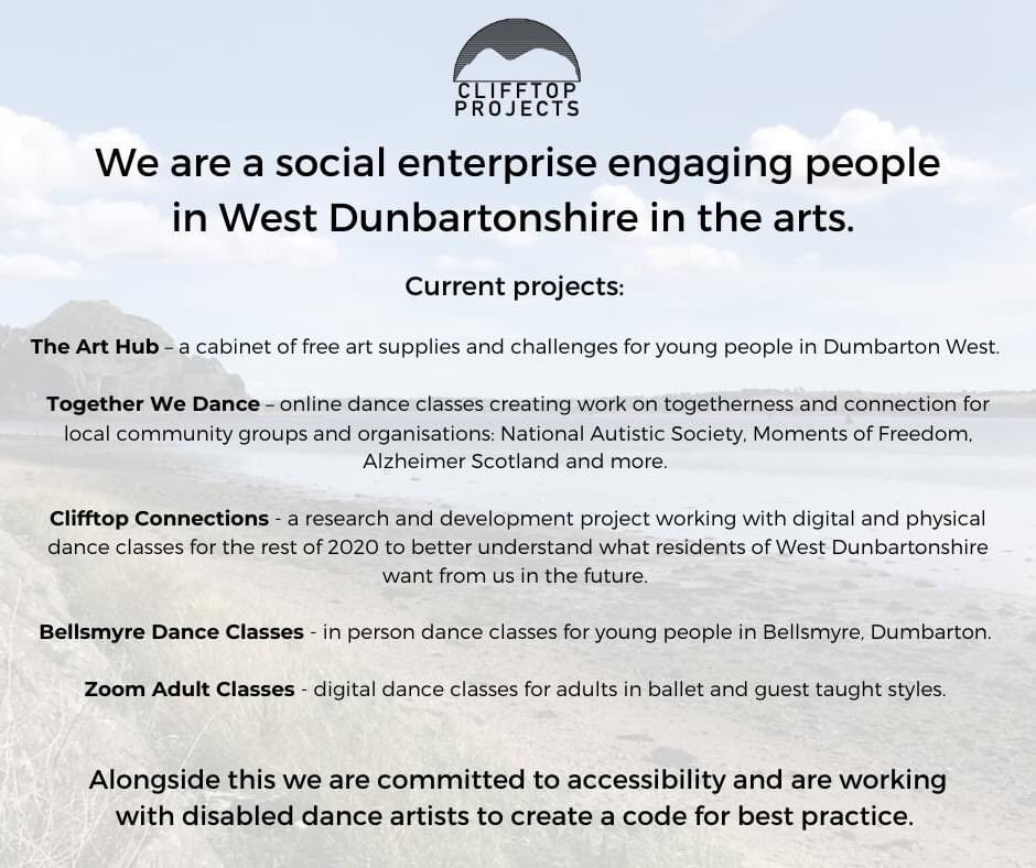 Check out what we are currently up to! #communityarts #communitydance #artsforall #SocEnt https://t.co/UzyV1838vj