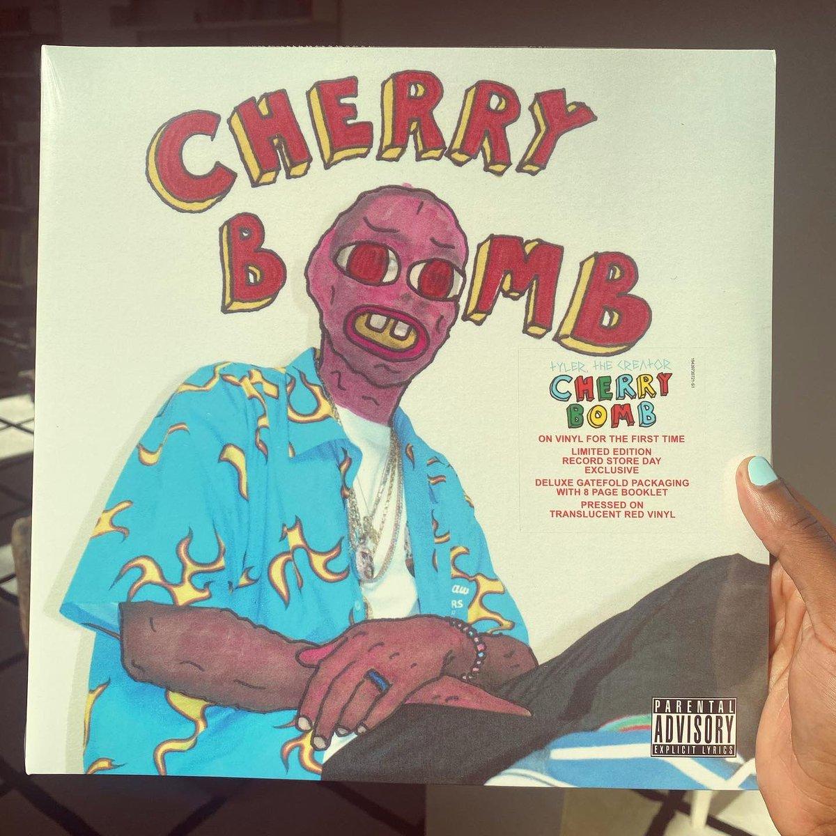 CHERRY BOMB VINYL: ALBUM / INSTRUMENTALS (FINALLY, 5 YEARS LATER) 8/29/20