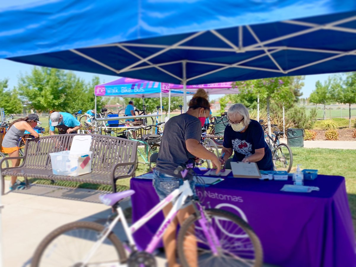 This Saturday, Bike Doc will be offering free bike repairs and diagnostics at the @NNFarmersMkt to those bicycle owners that registered for last week's event, which was canceled due to poor air quality. Thanks for supporting Bike Doc! https://t.co/zTgRP3aO7L