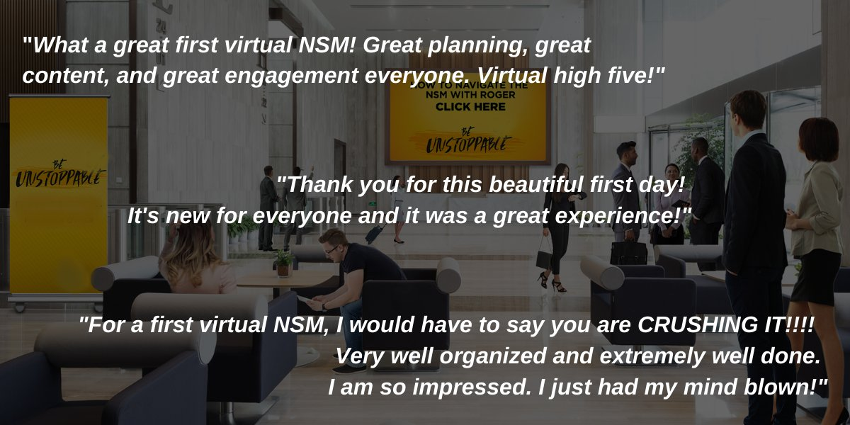 So happy to be part of this event! Eventive Marketing creates supremely effective & engaging virtual events. We are so proud to be part of this team! Those comments in the image are only a small percentage of the massively positive comments and results achieved through virtual!