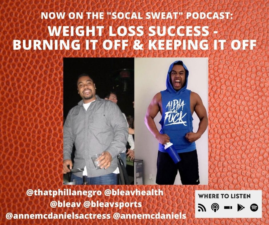Now on@BleavPodcasts #socalsweat: #Slashing #badhabits led to an 85lb #weightloss #success. My #interview with @eaganjackson shows the #motivation behind keeping it off for good. (iTunes, Spotify, Stitcher, and all other platforms). #alpha #beastmode   https://t.co/l97Bz258W1 https://t.co/cyrBe2bSBZ