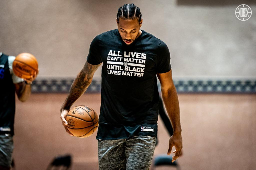 "Kawhi's shirt at practice: ""All lives can't matter until Black lives matter""  (via @LAClippers) https://t.co/AfDxzzEvFe"