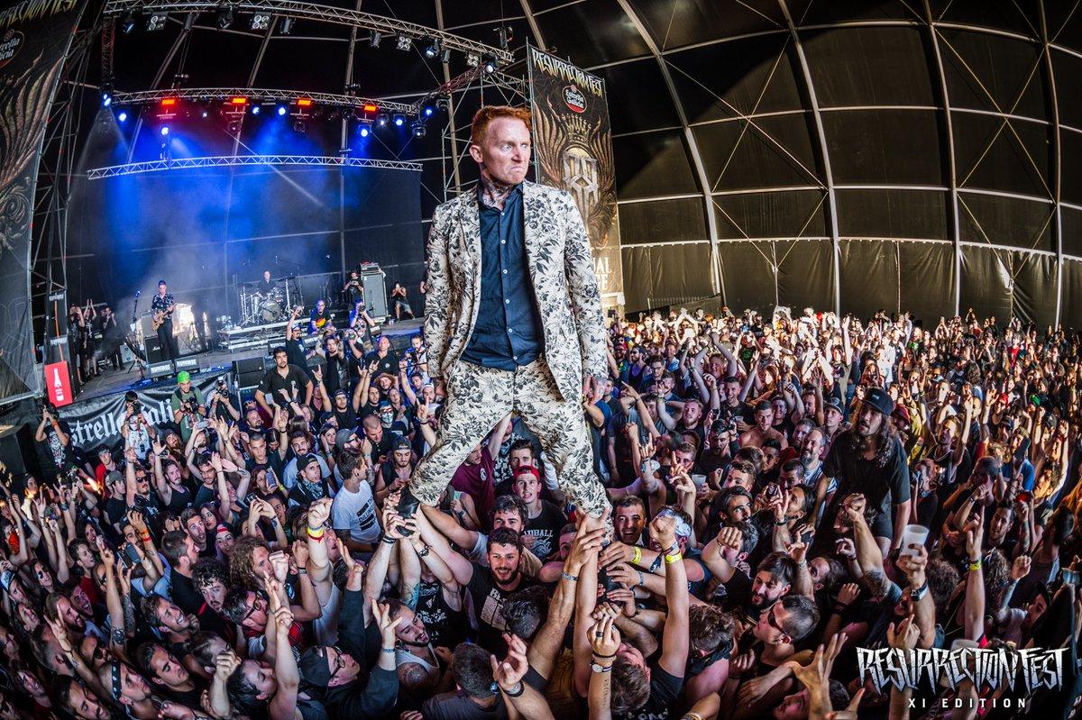 Resurrection Fest Estrella Galicia 2022. (29 - 3 Julio) Avenged Sevenfold, KoRn, Deftones, Sabaton y Bourbon! - Página 2 Egi0is6WAAEMPL0