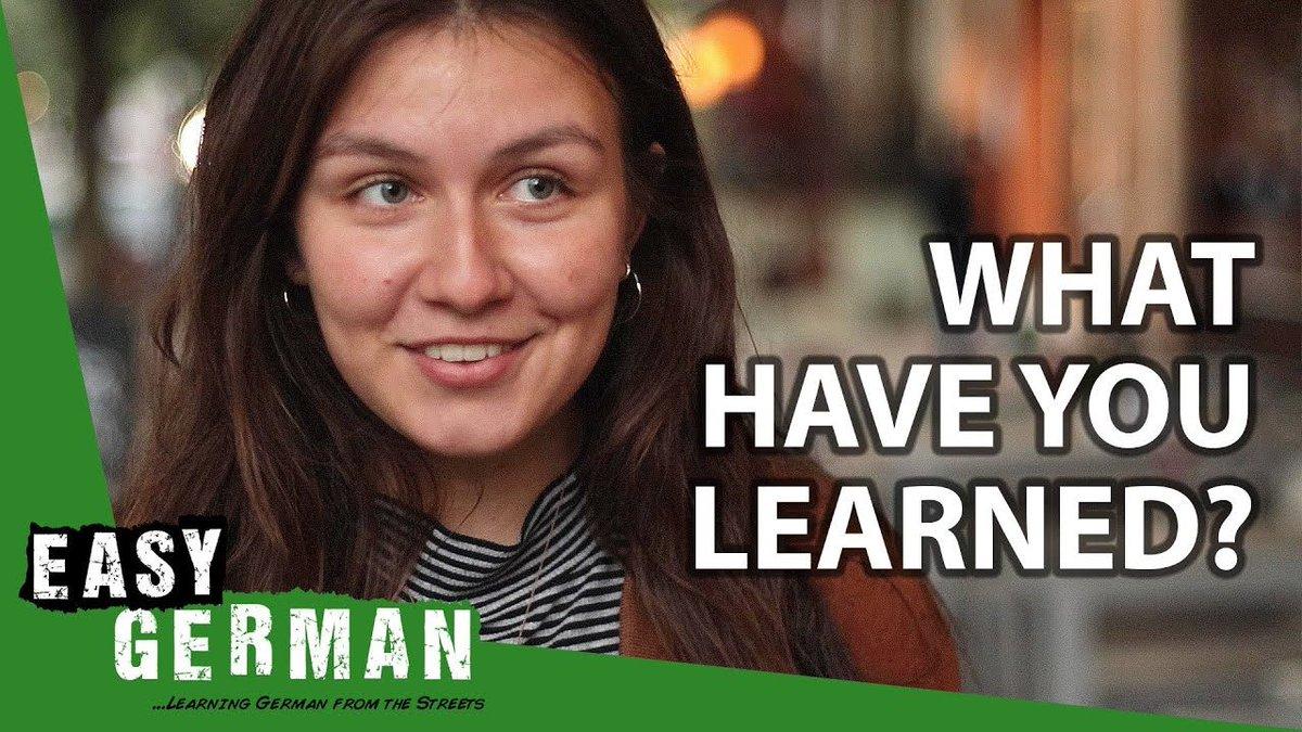 What #Germans have learned during the #Corona crisis | #EasyGerman 351: https://t.co/nUJlMaBQDS #Deutschlernen https://t.co/nvVJZrgfBj