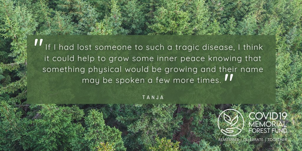 😍 What our supporters say...  Please retweet and follow our page to find out more 👍  #Covid19MemorialForestFund #Covid19Memorial #MemoryTrees #GreenRecovery #ForestOfMemories 🍂🌲 https://t.co/DuNPClegTa https://t.co/zaHzEciLRY