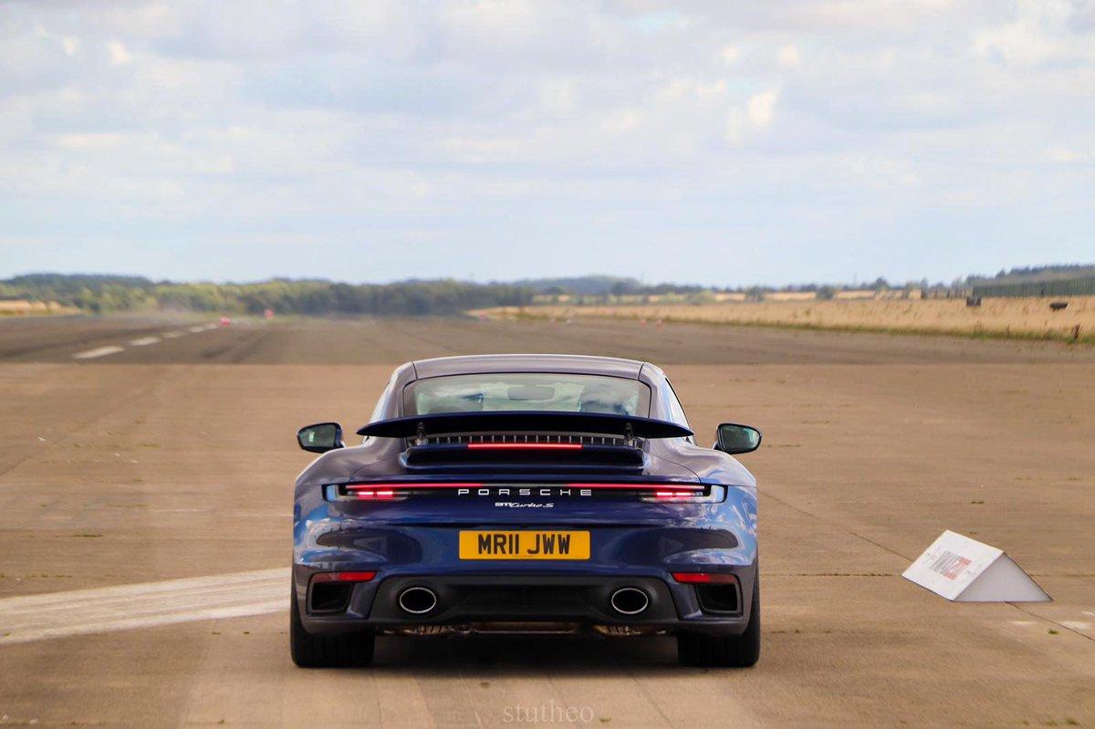 Full. Send.  210mph+ in the new Porsche 911 Turbo S!   Full video right here: https://t.co/PNCyOMjrIe https://t.co/sf7IlpC6Js