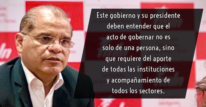 Oscar Ortiz: el país está en las peores manos