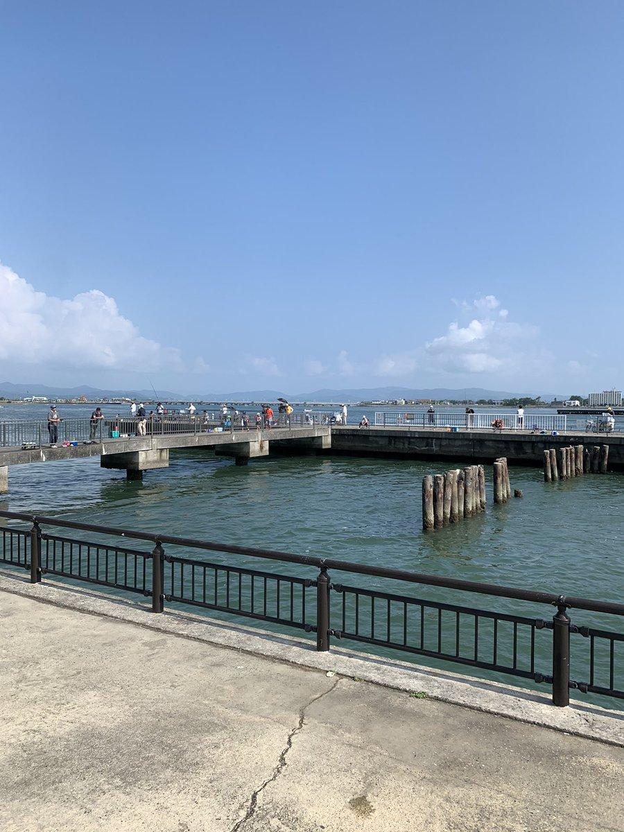 海 公園 新居 釣り