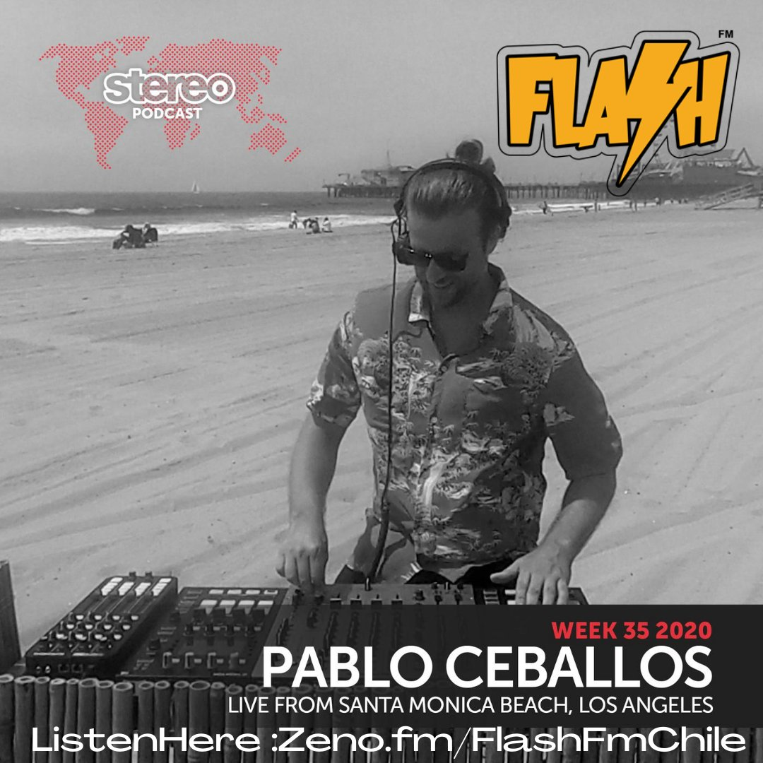 #StereoProductionsPodcast by @chusceballos  #nowplaying #sonandofuerte‼️‼️ Live At #SantaMonicaBeach #losangeles #EEUU #envivo🔴 #House #Techno #DeepHouse #TechHouse  ListenHere : https://t.co/7wYWU6zSpB   ▶️⚡️🙌😁❤️🇨🇱🌎 https://t.co/CD68TVvP4v