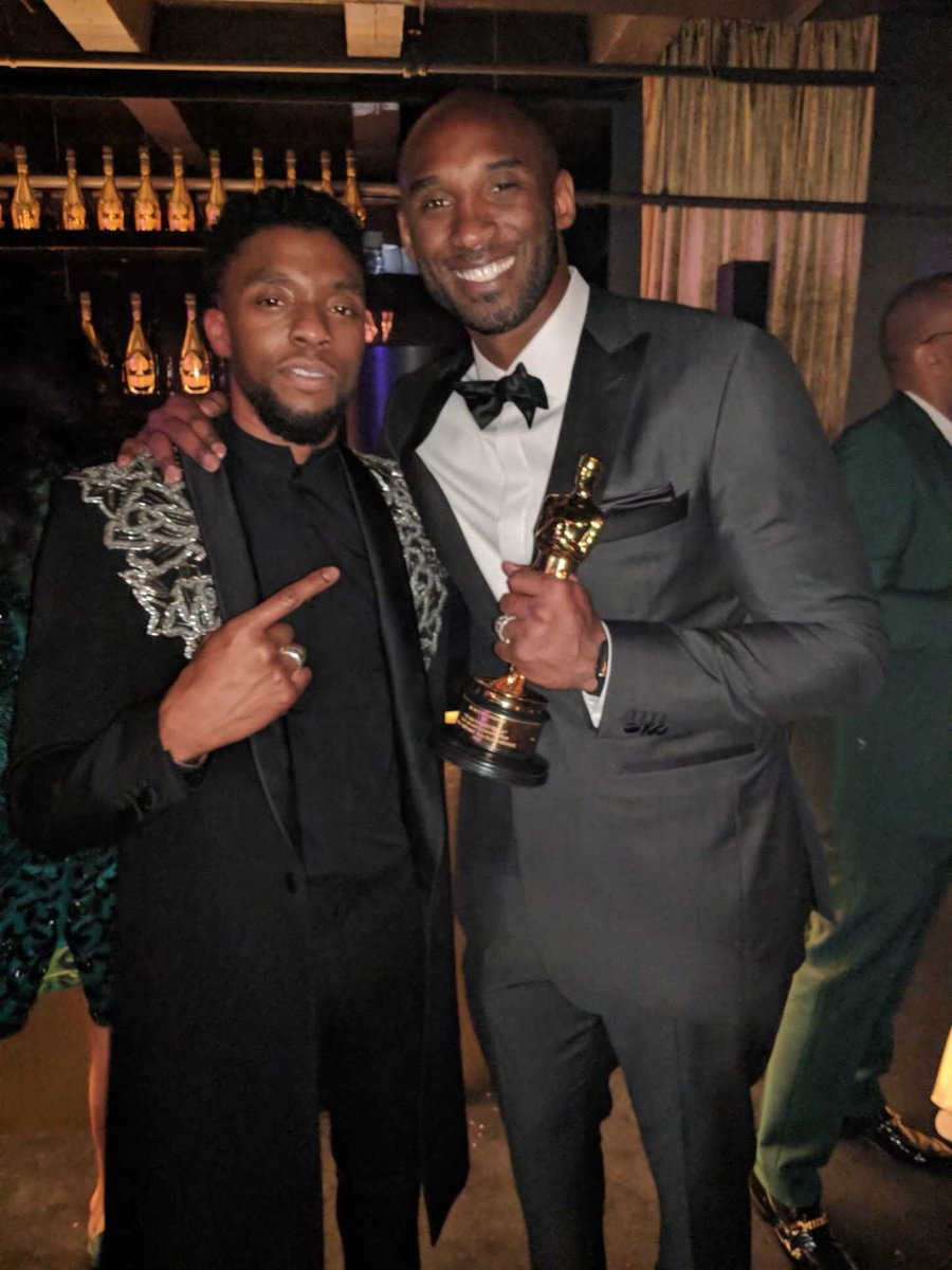 Two legends gone way too soon  Rest In Peace, Chadwick Boseman https://t.co/andBnlV2wa
