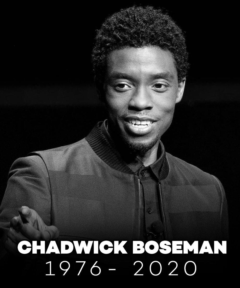 Replying to @barstoolsports: RIP Chadwick Boseman