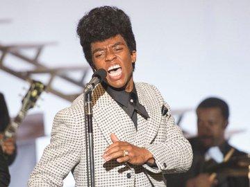 Chadwick Bosemen as James Brown.
