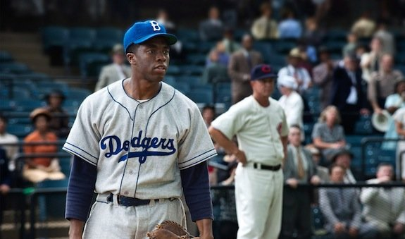 "In 2013, Chadwick Boseman portrayed baseball ⚾ legand and civil rights icon Jackie Robinson in ""42."" https://t.co/7WVHQtEQY8"