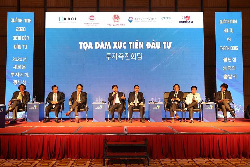 """Novotel Ha Long Bay proudly hosted the Investment Promotion for Korean enterprises in Quang Ninh themed as """"Quang Ninh 2020 – Investment Destination"""" 🇻🇳🇰🇷 https://t.co/ngfDWiu5Z9"""