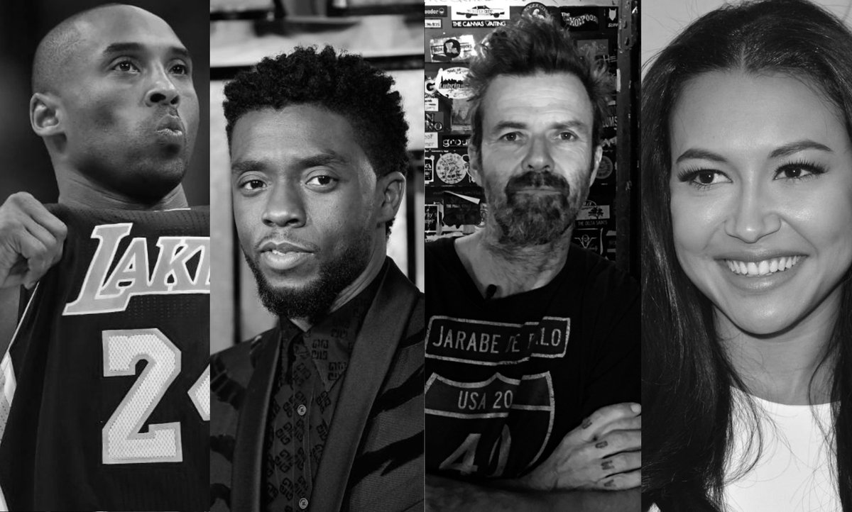 Marketingqmana On Twitter Murió Chadwick Boseman El Actor De Black Panther Mira Los Famosos Que Han Muerto Este Año Https T Co Tlzrpyyk4f Https T Co U4gpb8gh8d