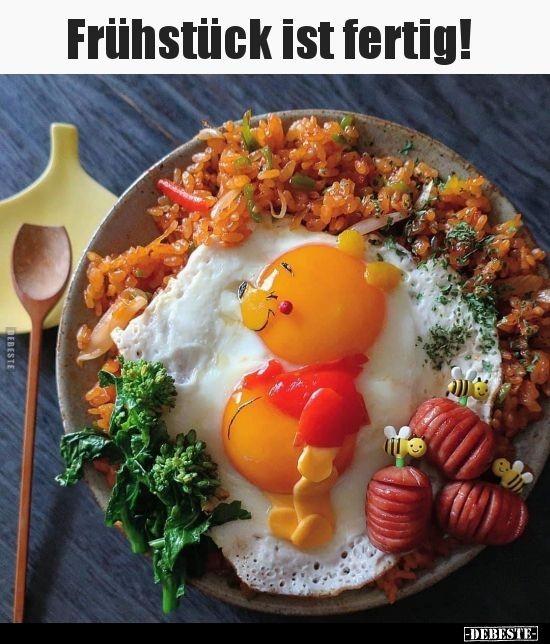 Ist frühstück guten fertig morgen Guten Morgen,