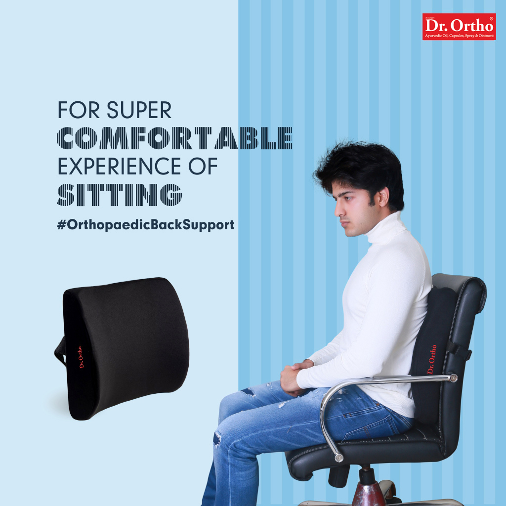 Now you can comfortably work at your desk with Dr. Ortho #Orthopedic Back Support. It gives super comfort to your back and prevents pain in the back. . . #drortho #backpain #backsupport #seatsupport  #stiffness #healthandwellness #posture #goodposture #BackPain #backpainrelief https://t.co/rdslOwcjtN