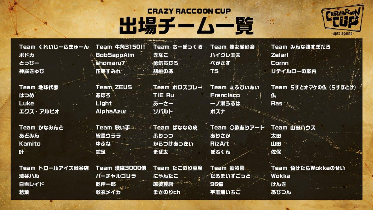 Apex cr カップ ルールや出場者のポイントは?これで第4回CRカップは丸わかり!【APEX】