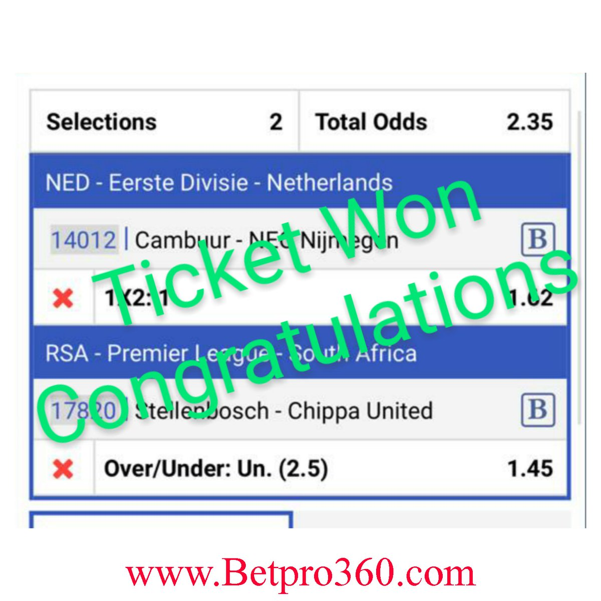 Betpro360 On Twitter Boom Winning Alert Yesterday S 3rd Set Result Put On Your Notification Dont Miss Out On Our Daily Free Odds Follow Us For Free Odds Daily Freetips Betting Tipster Bettingtips