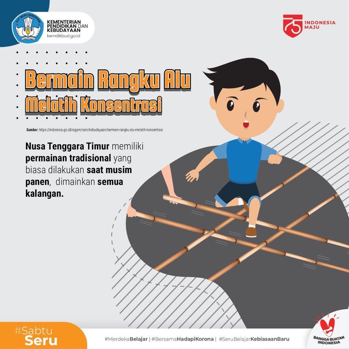 Merdekabelajar V Twitter Tahukah Sahabatdikbud Selain Menghibur Permainan Rangku Alu Juga Membentuk Karakter Dengan Melatih Konsentrasi Dan Ketepatan Dalam Bertindak Sahabatdikbud Pernah Mencoba Permainan Asal Nusa Tenggara Timur Ini Sabtuseru