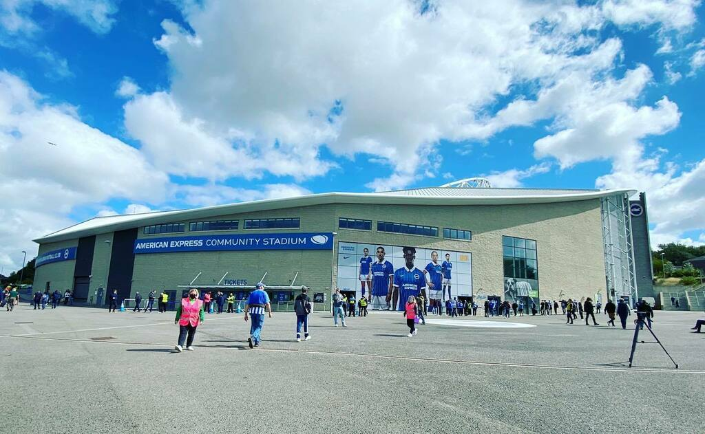 Fans will return today at the @officialbhafc v @ChelseaFC Venue: American Express Community Stadium, Brighton on 29th August 2020 - #BHAFC #Brighton #BrightonandHoveAlbion #ChelseaFC #Chelsea - 📸 Image: @PhilDuncanPhoto via @Prosportsimages   #footba… https://t.co/44GJEY49M2 https://t.co/aPSraoriml