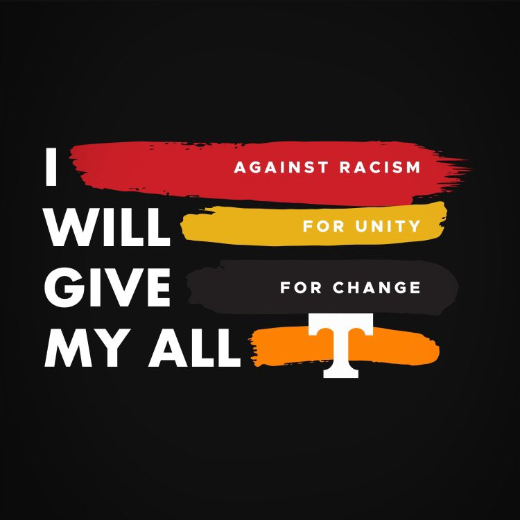 Replying to @Vol_Football: 𝙄 𝙒𝙄𝙇𝙇 𝙂𝙄𝙑𝙀 𝙈𝙔 𝘼𝙇𝙇  ✊🏽 against racism ✊🏻 for unity ✊🏿 for change