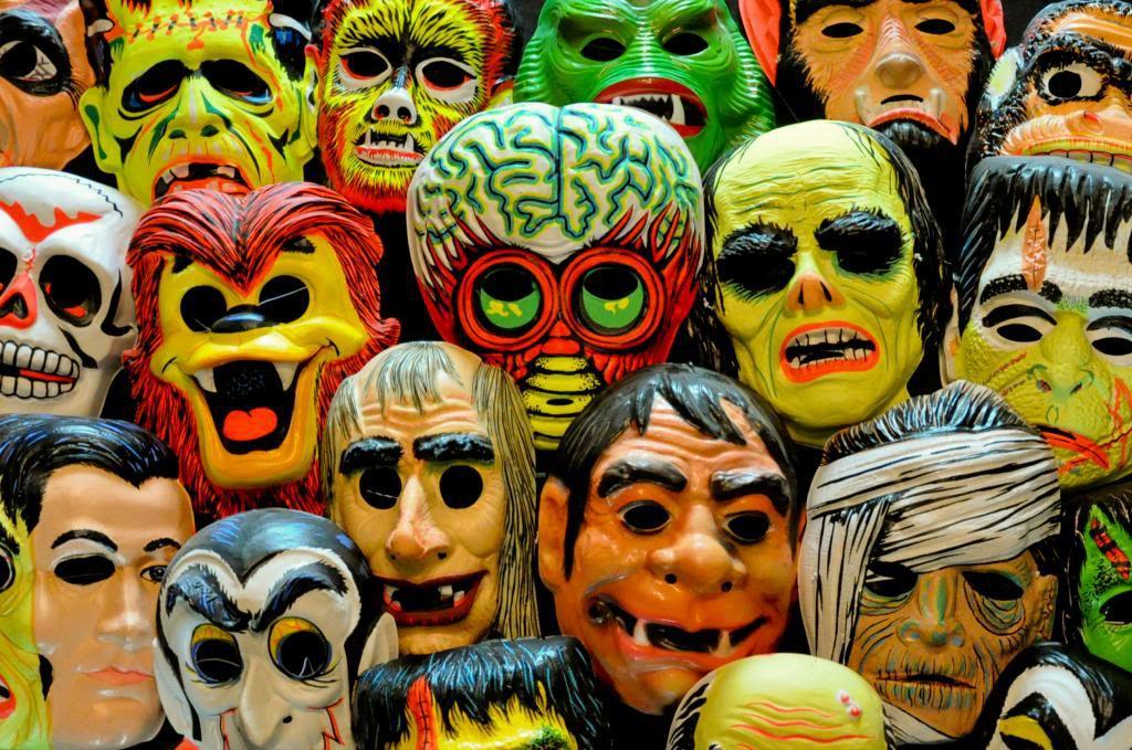 Ben Cooper Halloween Masks.