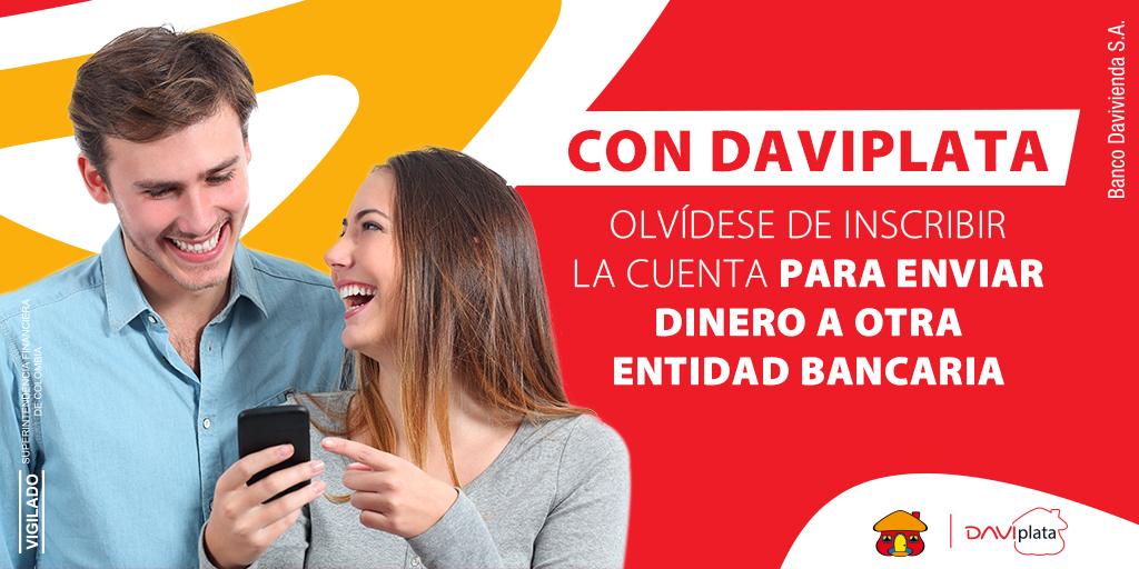 El mundo cambió y con el la forma de conectar con otros sin importar su entidad bancaria. #BienvenidoAlNuevoMundo con #DaviPlata https://t.co/4GlHpYepPB