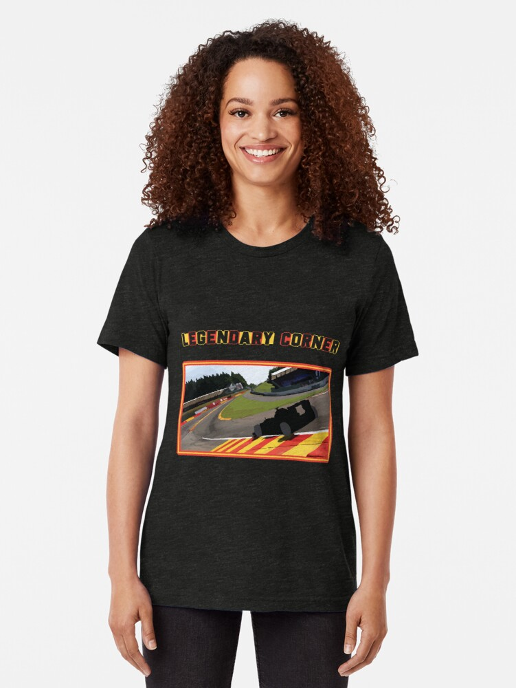 Its #BelgianGP and we cant forget to think about Legendary Corner - Eau Rouge. Celebrate this #grandprix with aesthtic #tshirt on https://t.co/MIl6hXZ1Uy  #F1 would be fun when you watch it wearing it. https://t.co/35xqJvUuKW