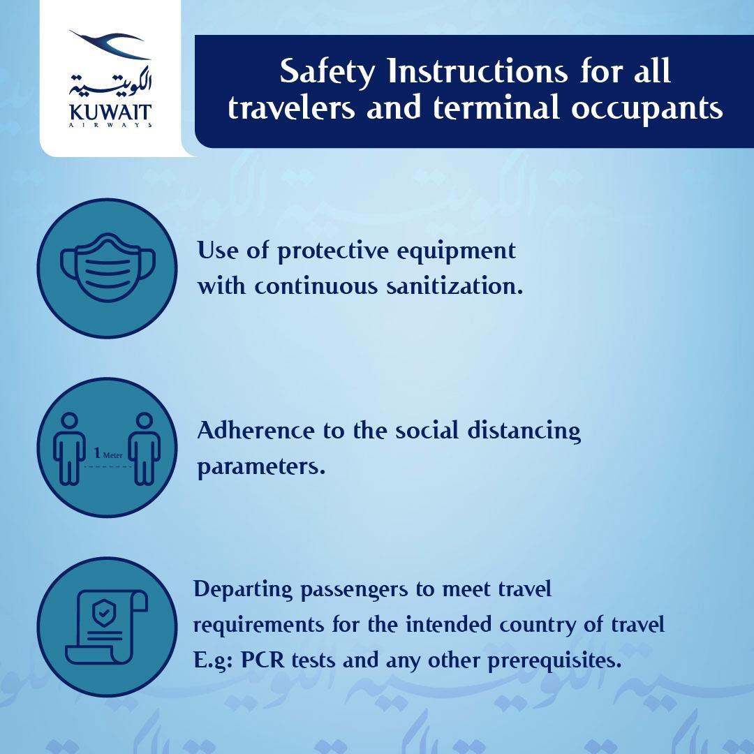 إرشادات المسافرين ومرتادي مبنى الركاب . Safety instructions for all travelers and terminal occupants https://t.co/jB5ZfPmwjq