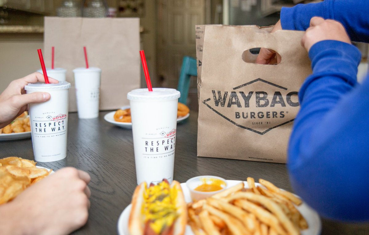 With our Curbside Pickup option, you can get your Wayback favorites without having to leave your car! Add Curbside Pickup to your cart prior to checking out on the Wayback app or https://t.co/iRTjydnvFT. https://t.co/LL1ZXieirw