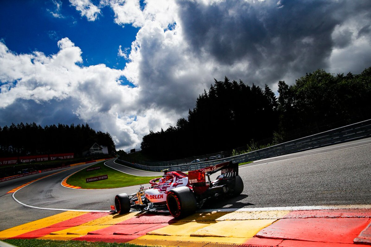 Let's get ready for an unconventional SPA Therapy 💪🔥 . Servirà grinta, intensità e carattere. Servirà metterci qualcosa in più. A domani! #BelgianGP 🇧🇪 #AG99🐝 #F1 https://t.co/lsz9FHagl3