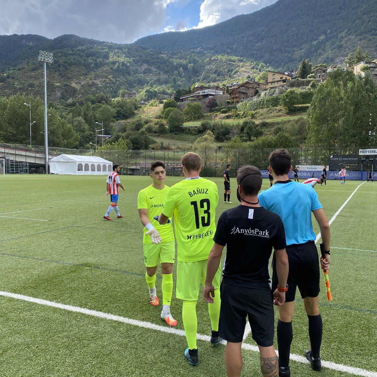 Min. 30 | 0-1 | 🔄 Canvi al @fcandorra   🔺 Entra @Miguelba26  🔻 Marxa @Diego_Huesca   #AndorraMartorell #SomTricolors🔵🟡🔴 #MésViusQueMai