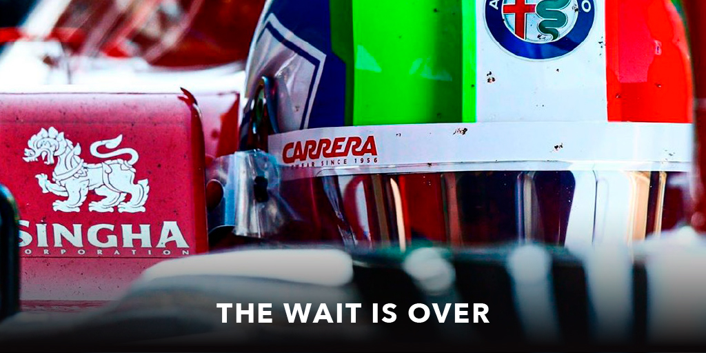 Belgium GP is waiting for us. Be ready to dare! #carrera #driveyourstory #belgiumgp #alfaromeoracing #orlen https://t.co/R592LiwTTL