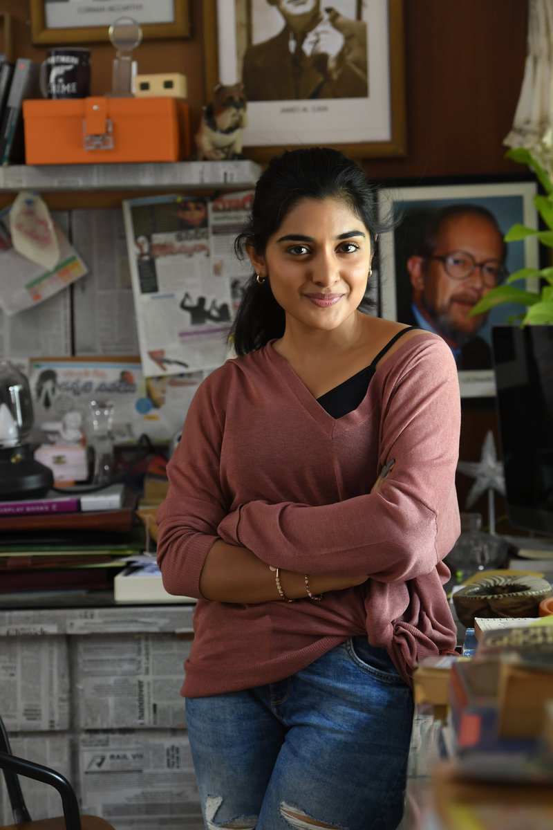 Bheeshma Talks On Twitter Can T Stop Gushing Over These Pics New Stills Of Nivetha Thomas She Interacted With Media Today In Zoom Call About Vmovie Which Is Releasing On 5th Sept In
