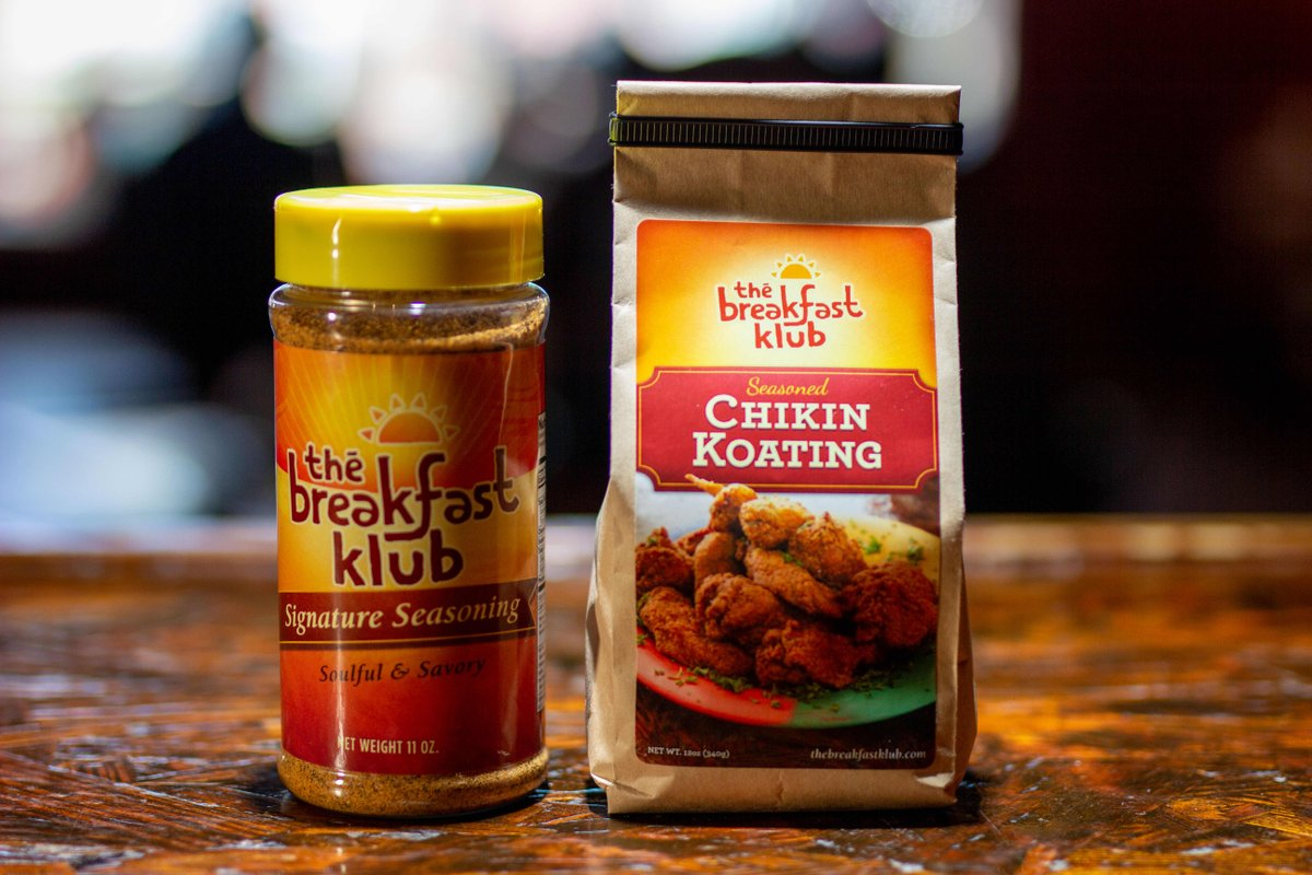 This dynamic duo makes mouth-watering chikin.  Go ahead...go to our website and purchase the TBK Chikin Koating and Signature Seasoning .  You'll be glad you did! #thebreakfastklub #signatureseasoning #chikinkoating #dynamicduo  #supportblackbusiness #shopsmall https://t.co/m3SAUqUSkA