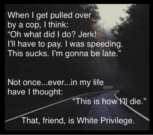 """Many of my fellow white folks treat the identification of white privilege as an accusation, like being called a racist. It's not at all """"your fault"""" for having been born into it. It *is* your fault should you continue to deny it's existence & not work to make change /11"""