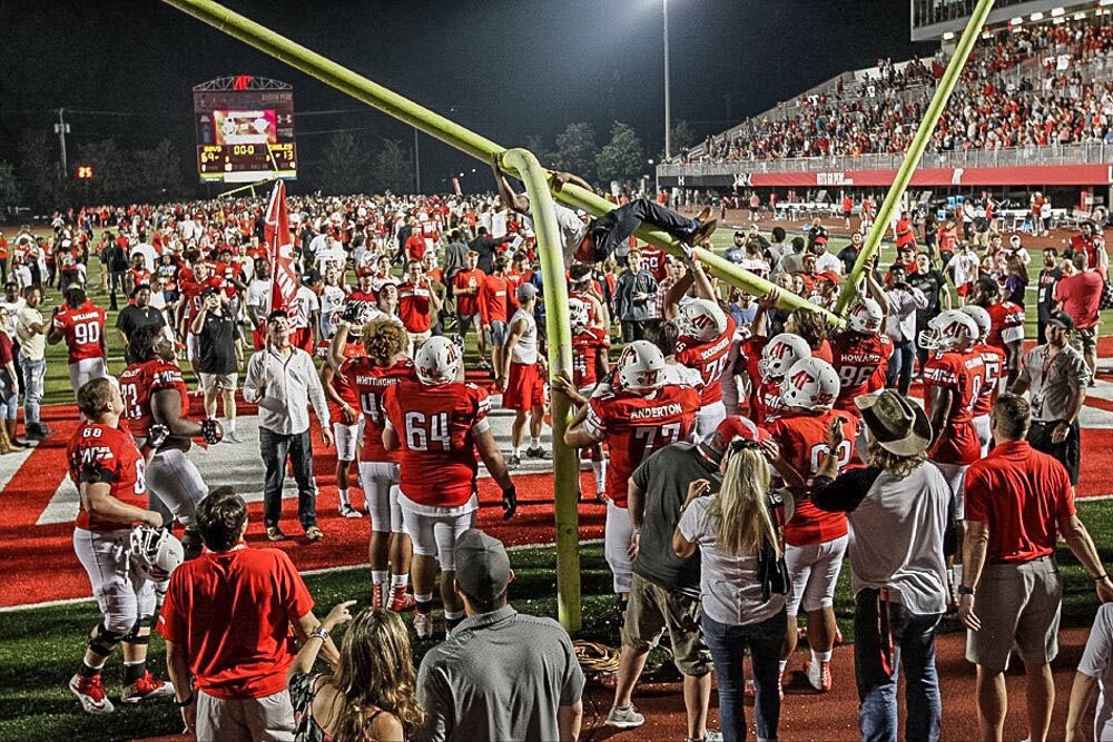 So fired up that college football is back, but more importantly proud to have been a part of @GovsFB and see how far they have come! Pulling hard for the Govs! #MissionPossible