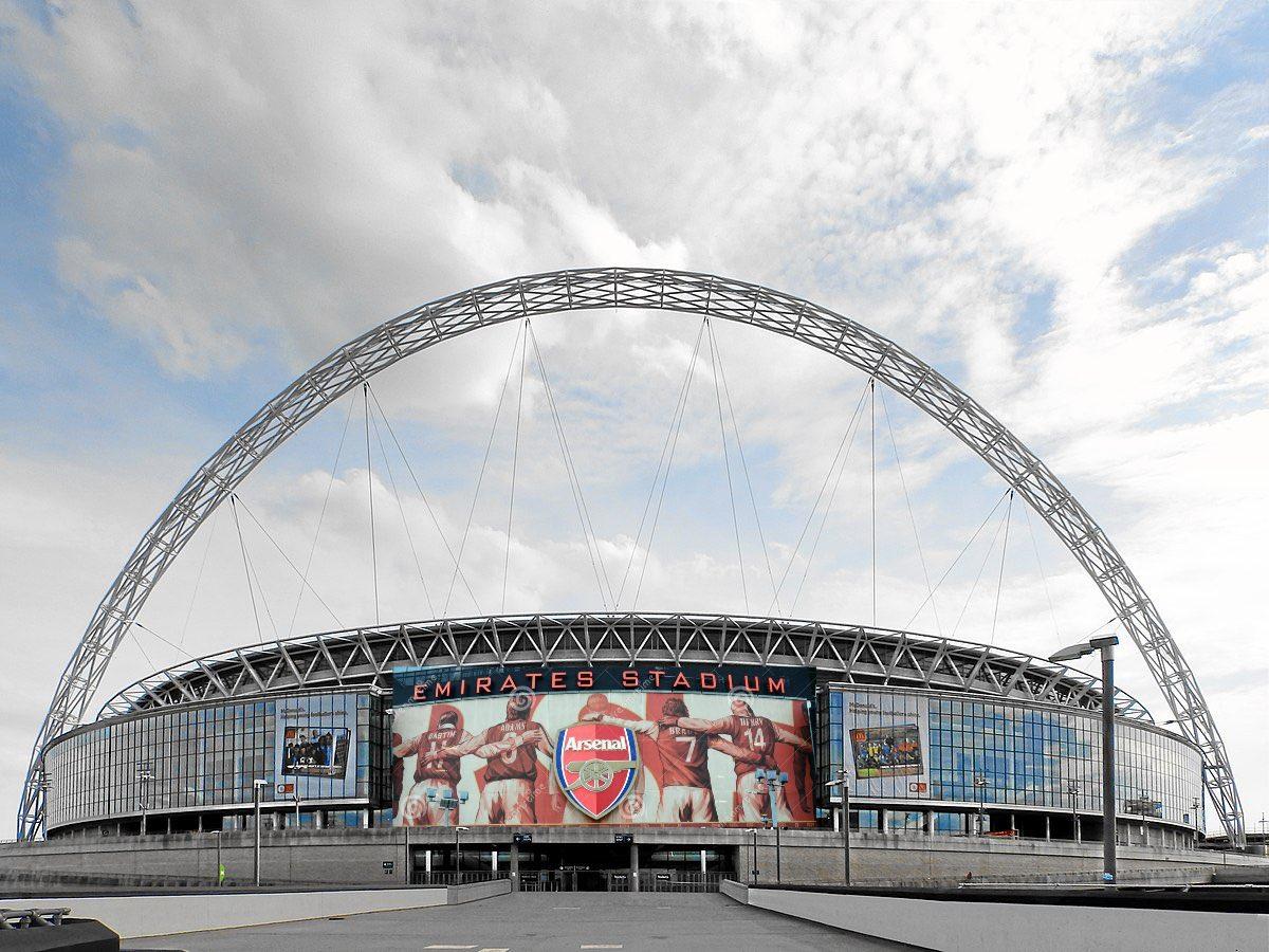 Lo normal que el @Arsenal tenga dos casas en Londres...